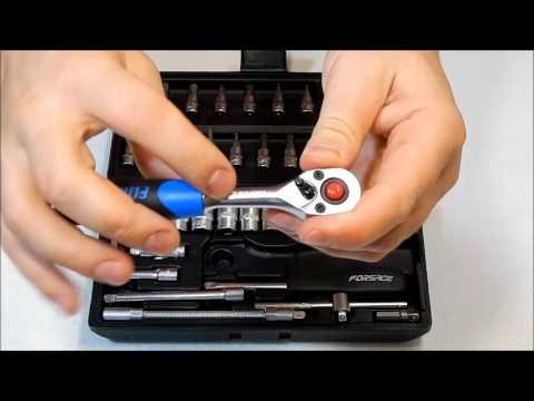 Набор инструментов Forsage 2462-5 (46 предметов)