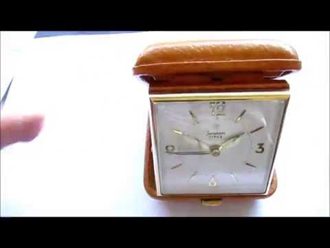 Junghans Bivox Traveller Alarm Clock