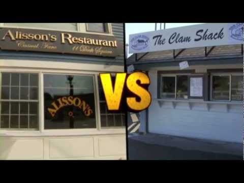 Maine Lobster Roll TV Promo for Food Wars on the Travel Channel