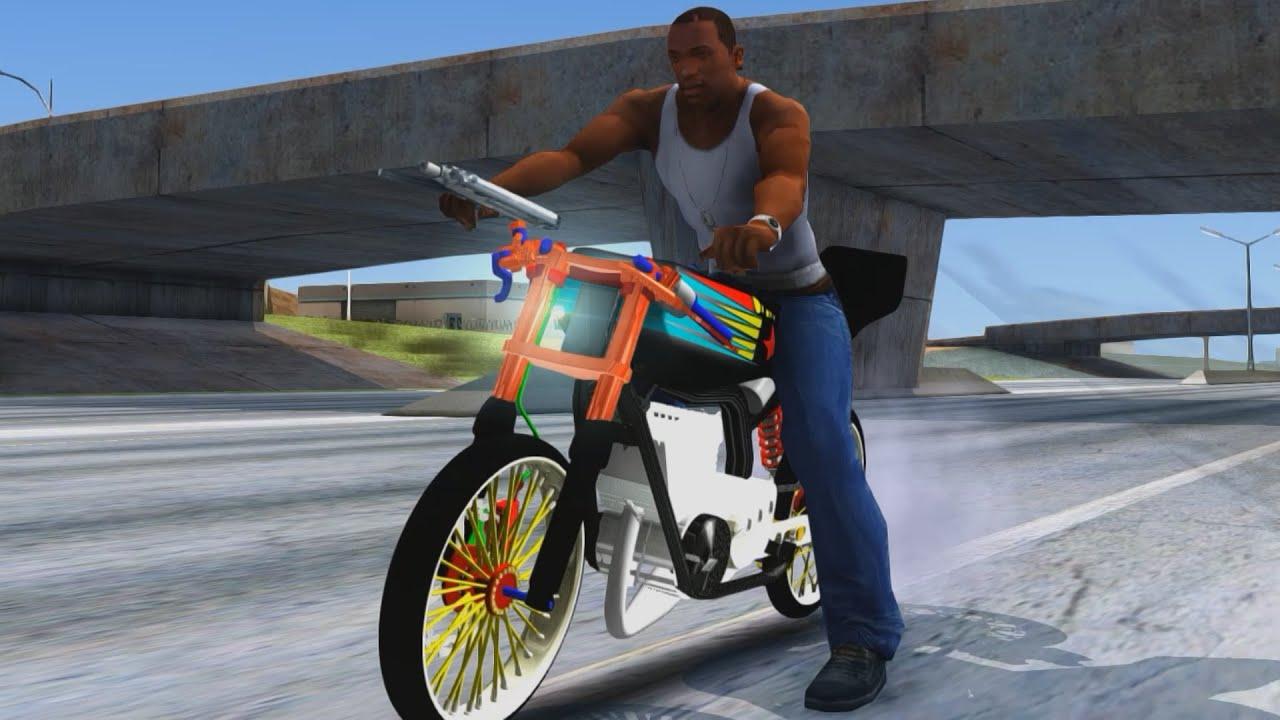 Download mod gta san andreas motor rx king drag | Download Mod Motor