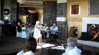 Linda Silber sings at anniversary celebration!