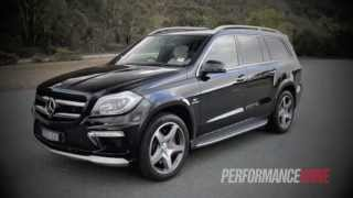 2013 Mercedes-Benz GL 63 AMG engine sound and 0-100km/h