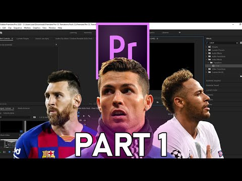 How To Make A Football Edit For Beginners-Premiere Pro Tutorial Part 1