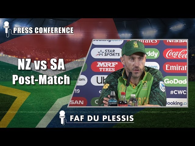 Defeat brought back memories of semifinal loss at Auckland - Faf du Plessis