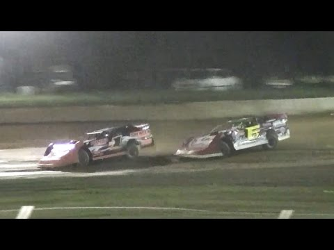 ULMS Super Late Model B-Main Two | Eriez Speedway | September Sweep | 9-23-16