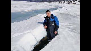 Зимняя рыбалка Последний лед Будьте осторожны
