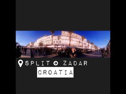 Travelogue | Split to Zadar, Croatia 2016 Winter [Adventures to the Balkans Day 5]