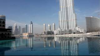 The Burj Dubai  Burj Khalifa  from Ground to the top,the Adress Hotel,the Hotel the Plalace Old town and the Dubai Mall,HD Quality