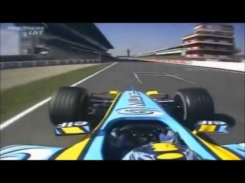 Renault R25 - Pure Onboard Sound V10 Engine [2005 F1 season]
