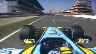 Renault R25 - Pure Onboard Sound V10 Engine [2005 F1 season]
