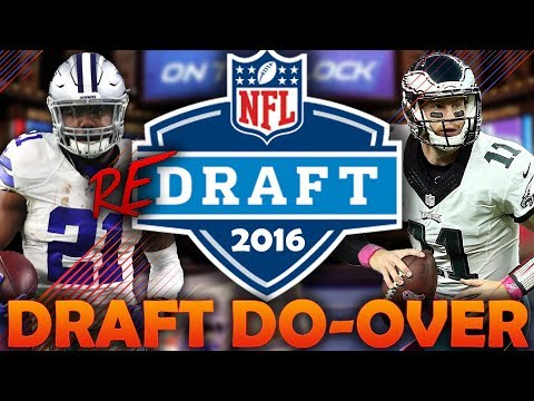 What if the 2016 NFL Draft Had a Do-Over? 2016 NFL Redraft |