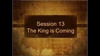 The Story of Scripture Session 13