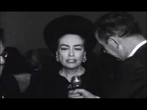 Joan Crawford 1965 Brandeis University Ribbon Cutting