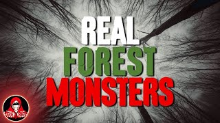 5 REAL Monsters in the Forest - Darkness Prevails