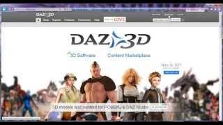 DAZ 3D. Часть 1. Общий обзор сервиса и загрузка программ