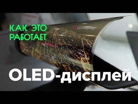 видео: Как работает oled-дисплей