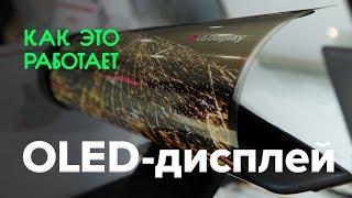Как работает OLED-дисплей