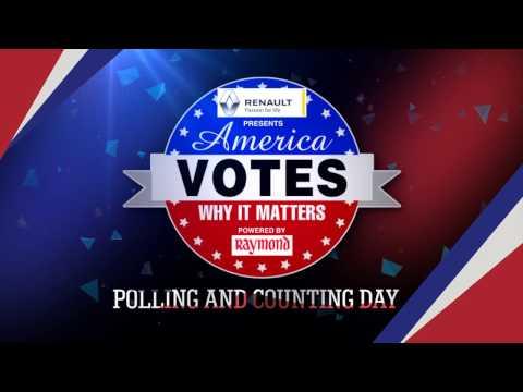 US Election Polling & Counting Day