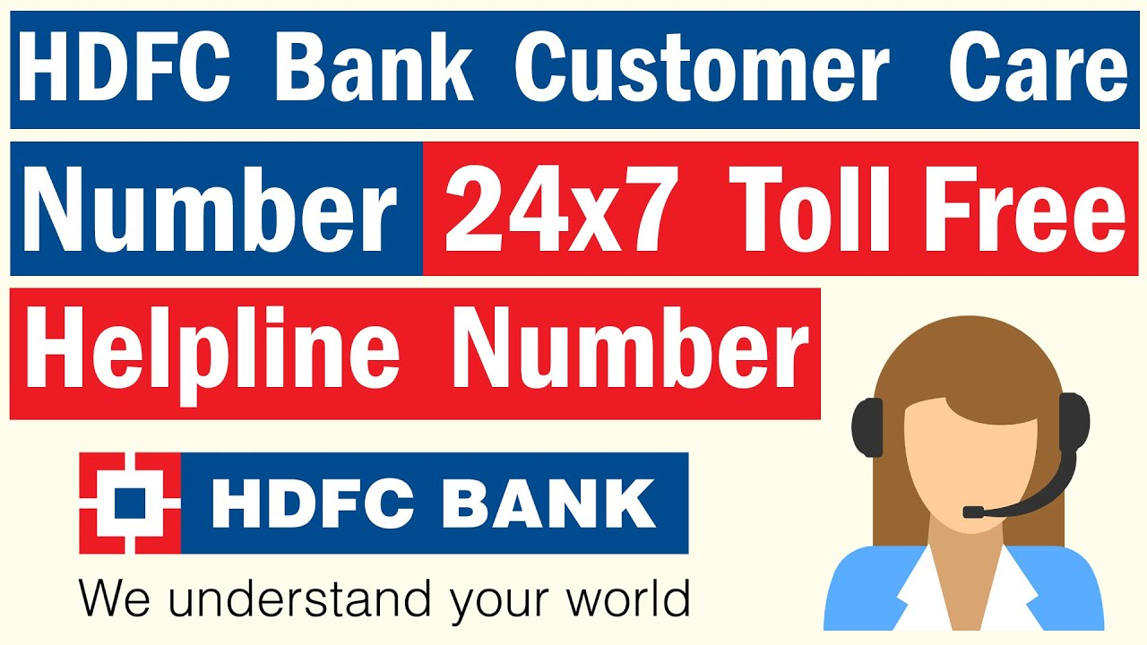 hdfc bank customer care toll free number chennai