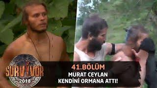 Murat Ceylan çılgına döndü! Kendini ormana attı... | 41. Bölüm | Survivor 2018 Video