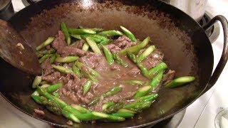 Savory Beef and Asparagus