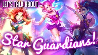 Let's talk Star Guardians! || skin analysis/discussion