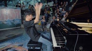 역대급 환호받은 스트리트 피아노 속주 (워너원 리메이크)