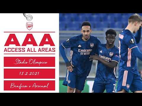 ACCESS ALL AREAS | Benfica vs Arsenal (1-1) | Europa League
