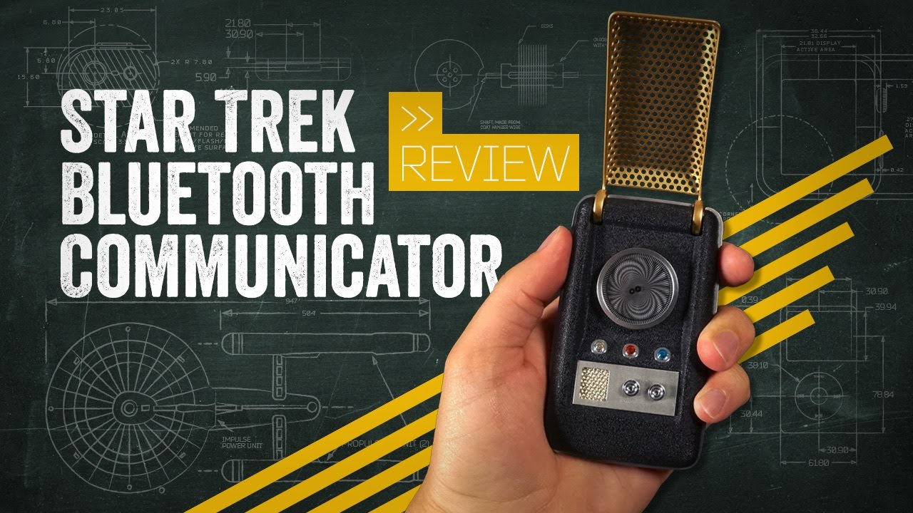 You can now buy a Star Trek Communicator that actually works!