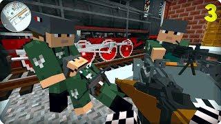 Вторая Мировая Война [ЧАСТЬ 3] Call of duty в Майнкрафт! - (Minecraft - Сериал)