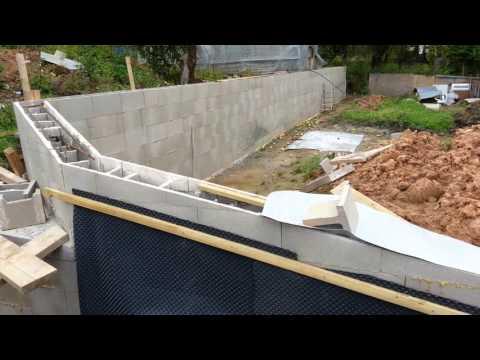 Новая несъемная опалубка для стен и фундамента из любого материала .