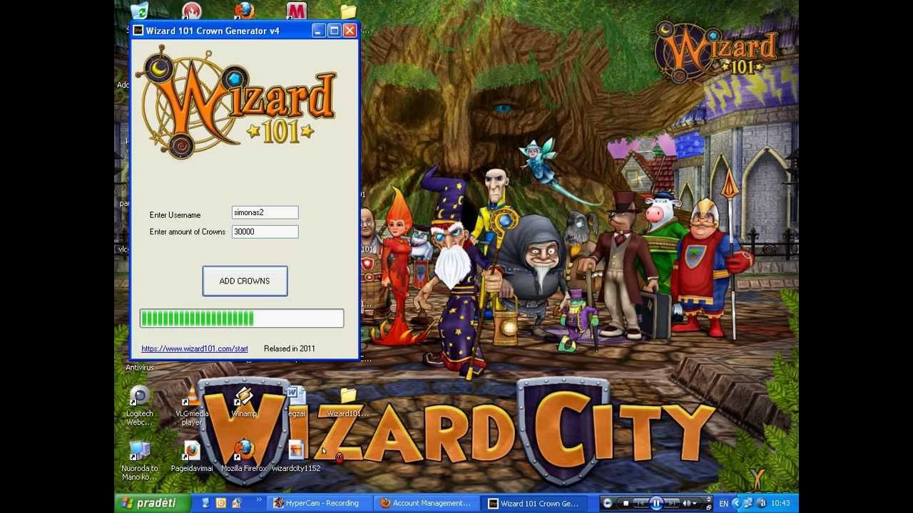 wizard101 crown generator v3