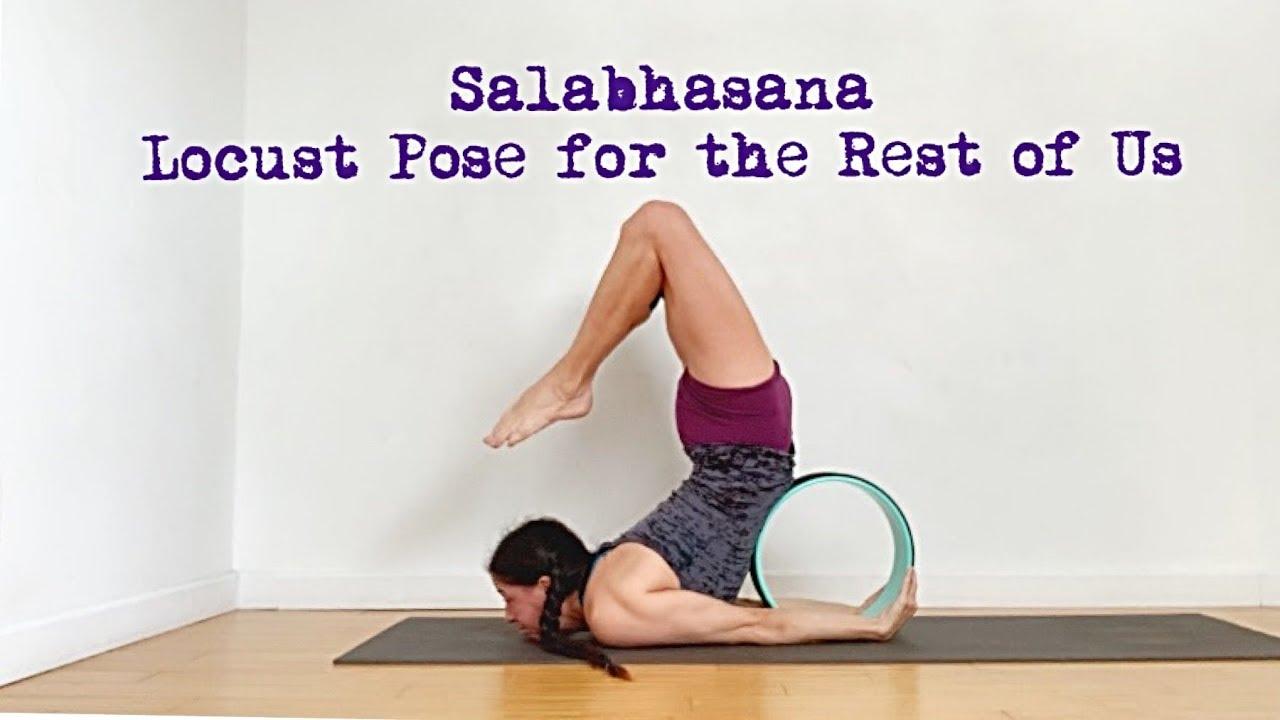 Salabhasana Locust Pose