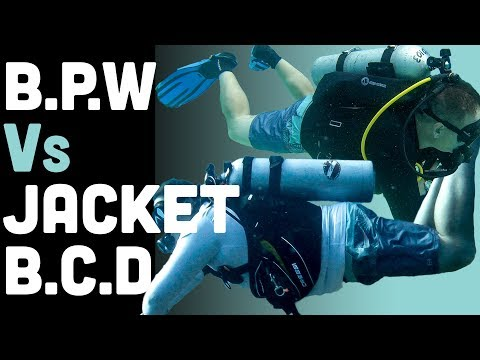 Back Plate Wing (BPW) Vs Jacket-Style BCD: A Scuba Gear Showdown!
