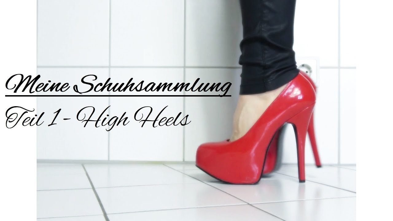 Meine Schuhsammlung 2018Teil 1 Frühlings Collection My Spring Try On Heels Shoe High L5Rq3jc4A