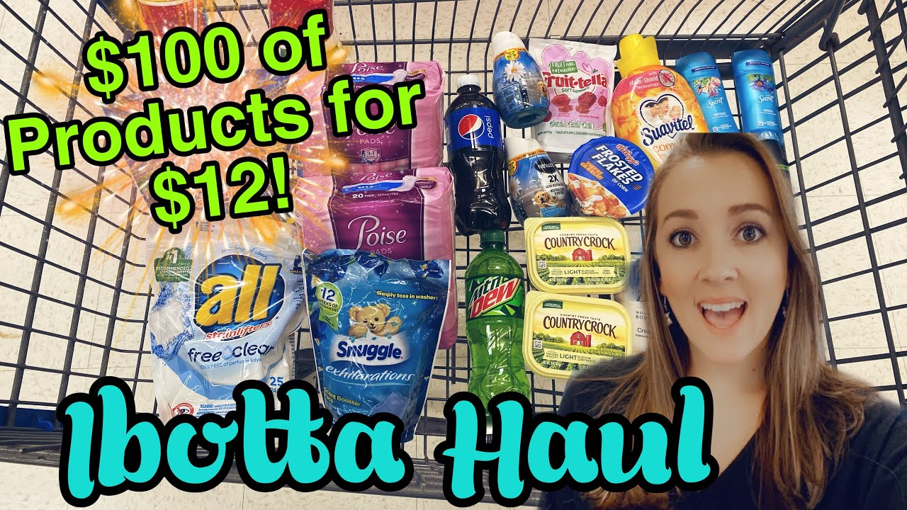 Walmart Ibotta Haul! $100 of Products for $12!
