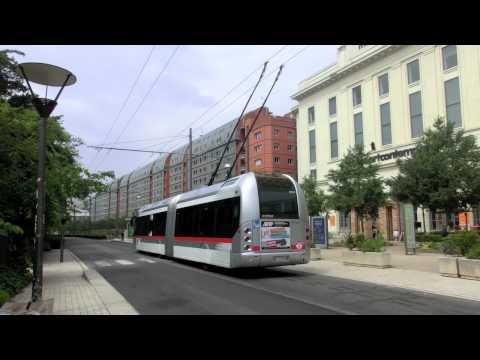 Trolley bus@Lyon