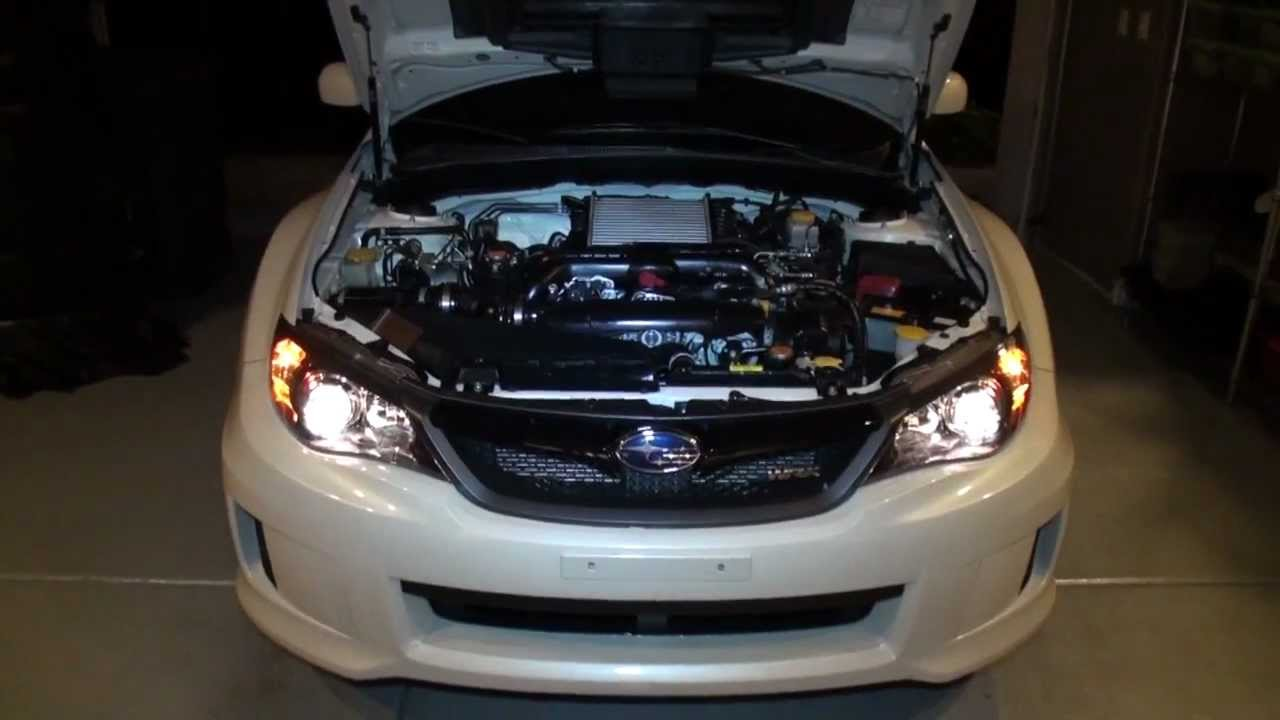 2011 Wrx Headlamp Adjustment Youtube