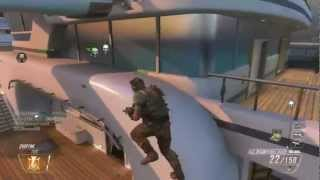 Call Of Duty Black Ops 2 CRAZY Outside Map Glitch on Hijacked