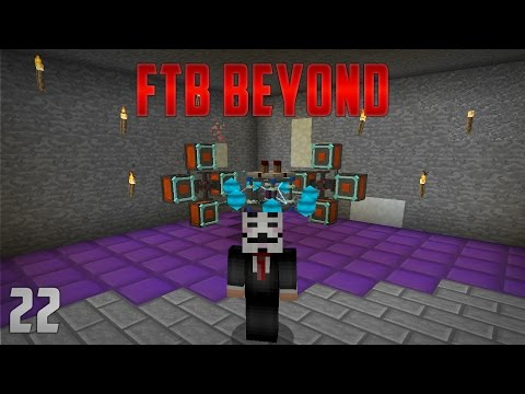 FTB Beyond EP22 Awakened Draconium Automation