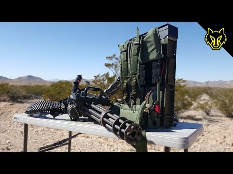 Will a Handheld Minigun Shoot Through Body Armor?