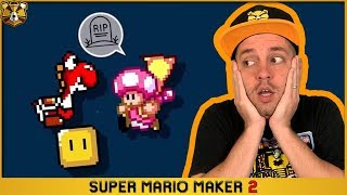 Barb's 0.07% Clear Rate Level Is F*kn' AWESOME! Super Mario Maker 2