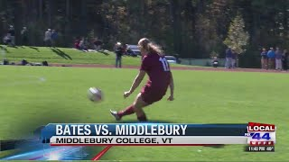Middlebury women's soccer stays perfect win with over Bates
