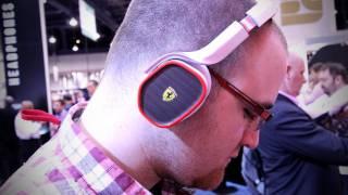 Ferrari Headphones CES 2012