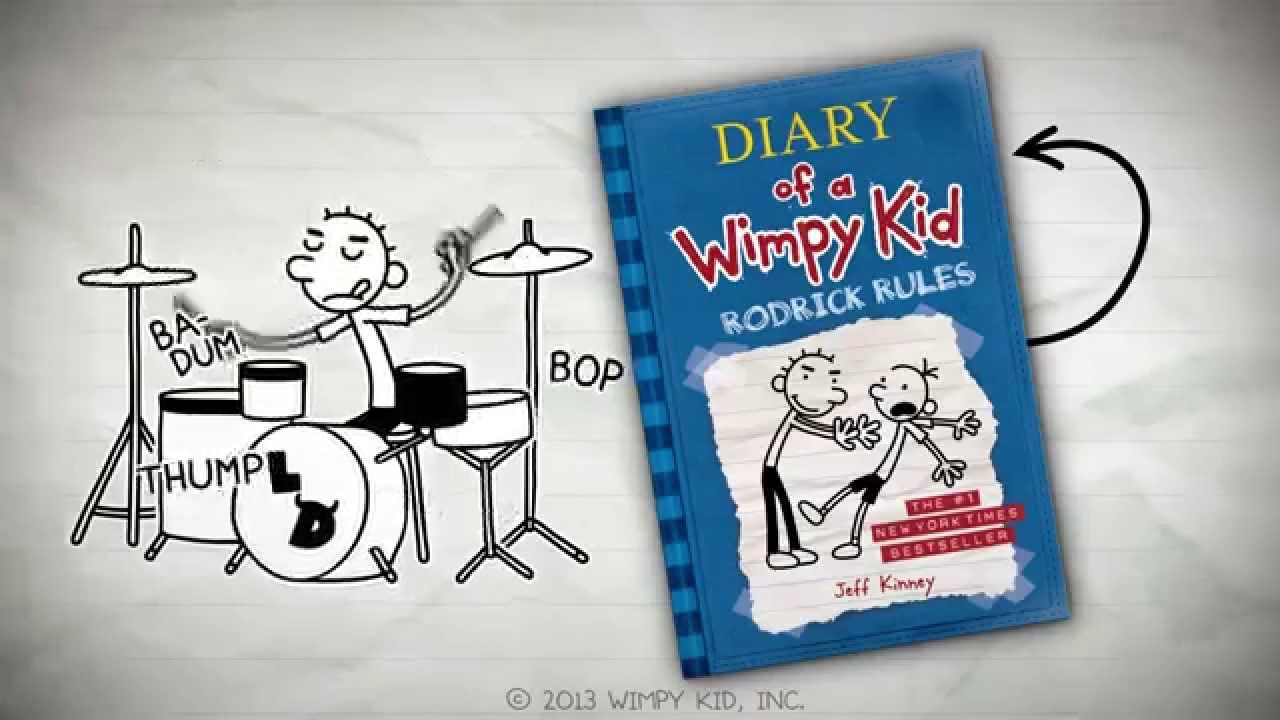 Diary of the wimpy kid book report