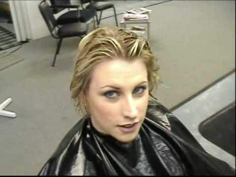 Hair Styling Video from 2003 With Joseph@Karma Cuts In Anchorage Alaska