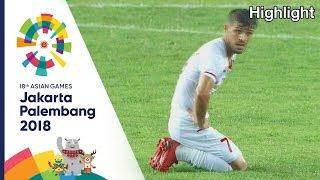 ไฮไลท์ ฟุตบอลชาย อินโดนีเซีย Vs ปาเลสไตน์  | เอเชียนเกมส์2018