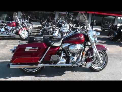 Harley Road King For Sale >> Used 2008 Harley-Davidson Road King FLHR Motorcycle For Sale - YouTube