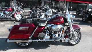 Used 2008 Harley-Davidson Road King FLHR Motorcycle For Sale