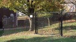 Big Sky Chain Link Fence Installation
